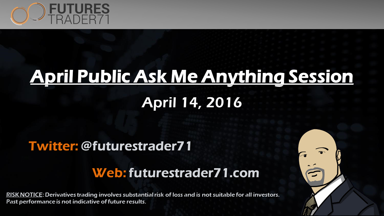April 14 - Public AMA Registration