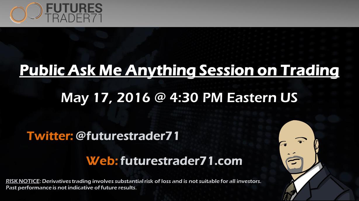 Live AMA on Trading